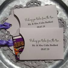 lottery ticket wedding favors wedding lotto favors wedding table favor unique wedding favor