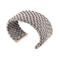 cross cuff bangle bracelet images Criss cross braided sterling silver cuff bracelet for sale at 1stdibs jpeg