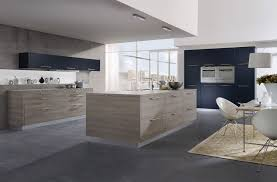 cuisine design bois cuisine anthracite et bois pas cher sur cuisine lareduc com