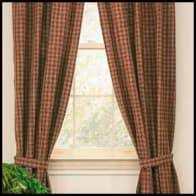 Country Porch Curtains Tieback Curtain Panels