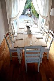 shabby chic dining table lovely chic dining table chairs derbyshire country ideas ire country