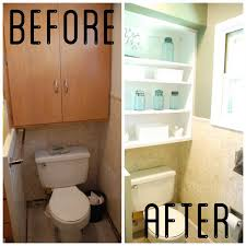 Bathroom Storage Above Toilet by Diy Bathroom Cabinet Over Toilet Shelving Bathroom Storage Gvetap