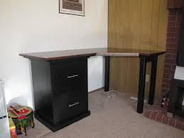 Studio Rta Corner Desk small corner desk with storage storage book shelves added grey