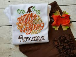 girls pumpkin shirt personalized fall shirt monogram pumpkin