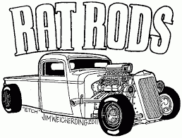 rod classic cars coloring pages kids play color pertaining to