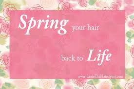 spring your hair back to life u2013 lexie hair and make up