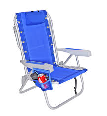 Fully Reclining Beach Chair Rio 5 Pos Layflat Ultimate Backpack Beach Chair W Cooler Ebay