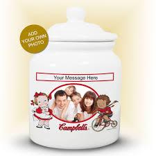 personalized cookie jars cbell kids personalized cookie jar cbellshop