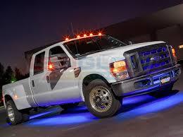 led lights for pickup trucks ledglow blue wireless smd led truck underbody lighting kit