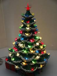 mini christmas tree with lights 21 best lighted ceramic christmas trees images on pinterest