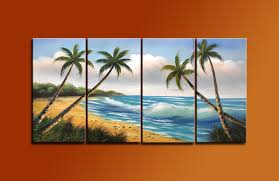 amazon com ode rin art 100 hand painted sunshine beach 4