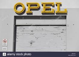 opel logo ruesselsheim germany 10th june 2017 dpatop the opel logo is