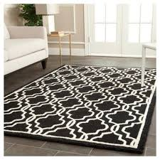 accent rug langley textured accent rug black ivory 4 x 6 safavieh
