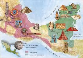 aztec map of mexico ancient cultures with maps