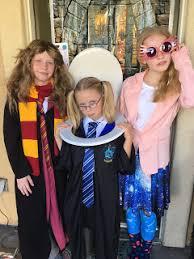 hermione granger moaning myrtle u0026 luna lovegood costumes