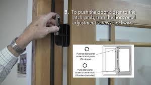 Overhead Door Closer Adjustment by Patio Doors 49 Imposing Patio Door Closer Image Concept