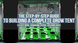 step by step guide complete 6 5ft x 6 5ft ebb and flow grow tent