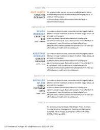 Classy Resume Templates Simple Resume Templates 75 Examples Free Download