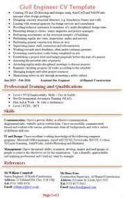 Civil Engineer Resume Example by Resume Cv Civil Engineer