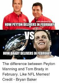 Peyton Manning Tom Brady Meme - 25 best memes about peyton manning tom brady nfl and meme