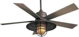 Ceiling Fan With Cage Light 7 Rustic Industrial Ceiling Fans With Cage Lights You Ll For