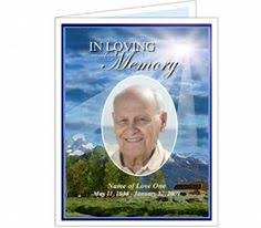 Funeral Card Template Funeral Prayer Cards Seascape Prayer Card Templates Prayer