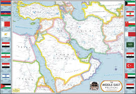 Map Of Turkey And Syria by Buy Middle East Map Saudi Arabia Yemen Oman Iran Iraq Syria