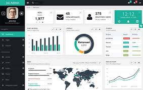 30 responsive free angularjs admin themes css author