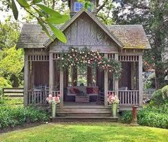 Little Cottage Home Decor She Needs A She Shed With Fixer Upper Farmhouse Flair Farmhouse