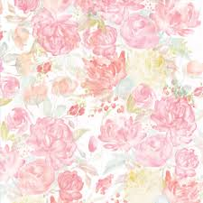 Flower Design For Scrapbook Shop For The Watercolor Floral Scrapbook Paper By Recollections