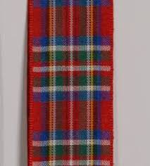 plaid ribbon plaid ribbon edinburgh plaid tartan ribbon royal stewart