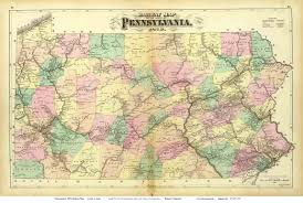 map of pa maps of pennsylvania