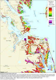 Arlington Virginia Map Sea Level Rise Planning Maps Likelihood Of Shore Protection In