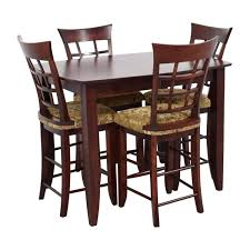 high table with four chairs dining room high top tables second hand high top dining table with