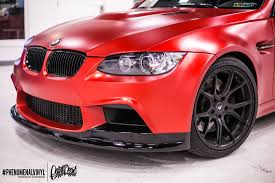 red bmw 2016 bmw m3 in satin candy red phenomenalvinyl