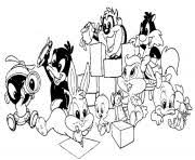 looney tunes coloring pages free printable