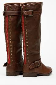 s boots knee high brown bamboo knee high rider brown boots cicihot boots catalog s