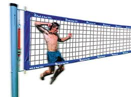 Backyard Volleyball Nets Tournament 4000t Outdoor Volleyball System Outdoor Systems