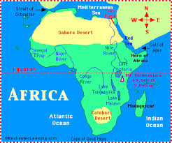 africa map 54 countries countries