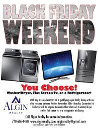 black friday washer dryer black friday weekend u2013 algin realty