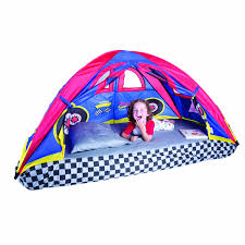 Kids Bed Canopy Tent by Amazon Com Pacific Play Tents Kids Rad Racer Bed Tent Playhouse