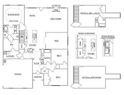 the lexington carellton floor plans gallatin new homes