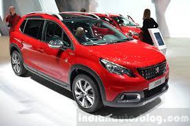 peugeot new cars 2016 2016 peugeot 2008 gt line facelift u2013 geneva motor show live