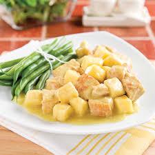 cuisine à la mijoteuse cari de porc épicé aux pommes à la mijoteuse recettes cuisine et