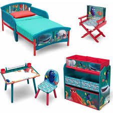 Kids Art Desk And Chair by Disney Finding Dory Room In A Box With Bonus Chair Walmart Com