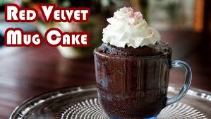 red velvet mug cake youtube