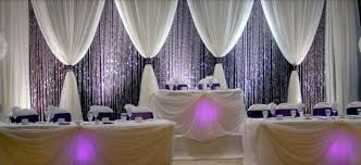 wedding venue backdrop wall draping venue draping backdrop uplighting led mood light