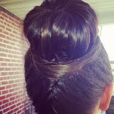 boy wears his hair in an updo be glamorous with this voluminous trendy updo wear it to the