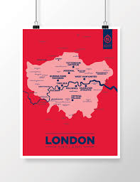 london map u2014 football club maps