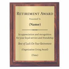retirement plaques retirement plaques offered by awards2you awards2you